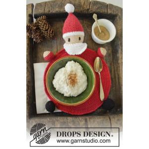 Brunch with Santa by DROPS Design - Häkelmuster mit Kit Platzset 22cm