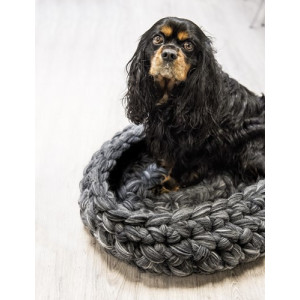 Mayflower Häkelmuster mit Kit Hundekorb