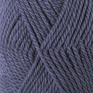 Drops Alaska Garn einfarbig 57 Denim Blau