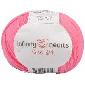 Infinity Hearts Rose 8/4 Garn einfarbig 33 Pink