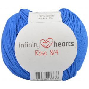 Infinity Hearts Rose 8/4 Garn einfarbig 101 Mitternachtsblau