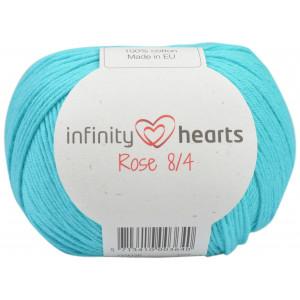 Infinity Hearts Rose 8/4 Garn einfarbig 130 Meeresgrün