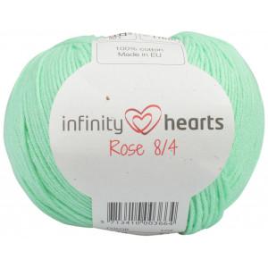 Infinity Hearts Rose 8/4 Garn einfarbig 140 Minzgrün
