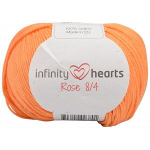 Infinity Hearts Rose 8/4 Garn einfarbig 192 Helles Orange