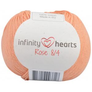 Infinity Hearts Rose 8/4 Garn einfarbig 195 Pfirsisch
