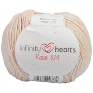 Infinity Hearts Rose 8/4 Garn einfarbig 212 Sand
