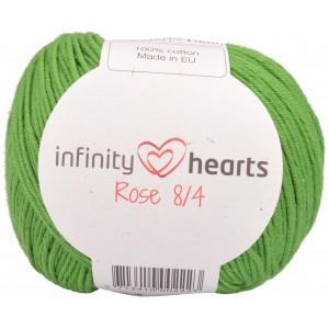 Infinity Hearts Rose 8/4 Garn einfarbig 156 Grün