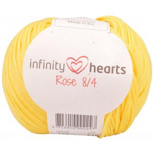 Infinity Hearts Rose 8/4 Garn einfarbig 179 Gelb