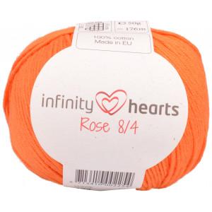 Infinity Hearts Rose 8/4 Garn einfarbig 193 Orange