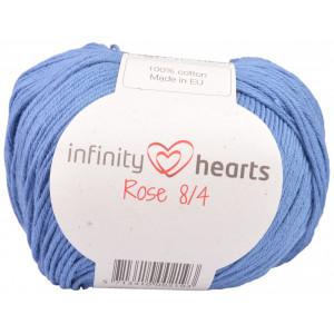 Infinity Hearts Rose 8/4 Garn einfarbig 91 Jeansblau