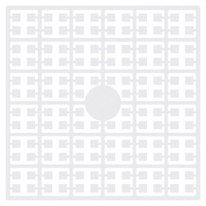 Pixelhobby Midi Pixel 100 Weiß 2x2mm - 144 Pixel