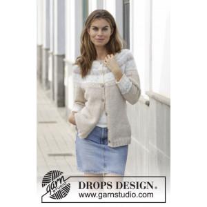 Nougat Cardigan by DROPS Design – Strickmuster mit Kit Cardigan Größen S - XXXL