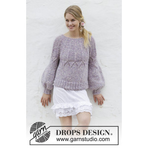 Fair Lily by DROPS Design – Strickmuster mit Kit Sweater Größen S - XXXL