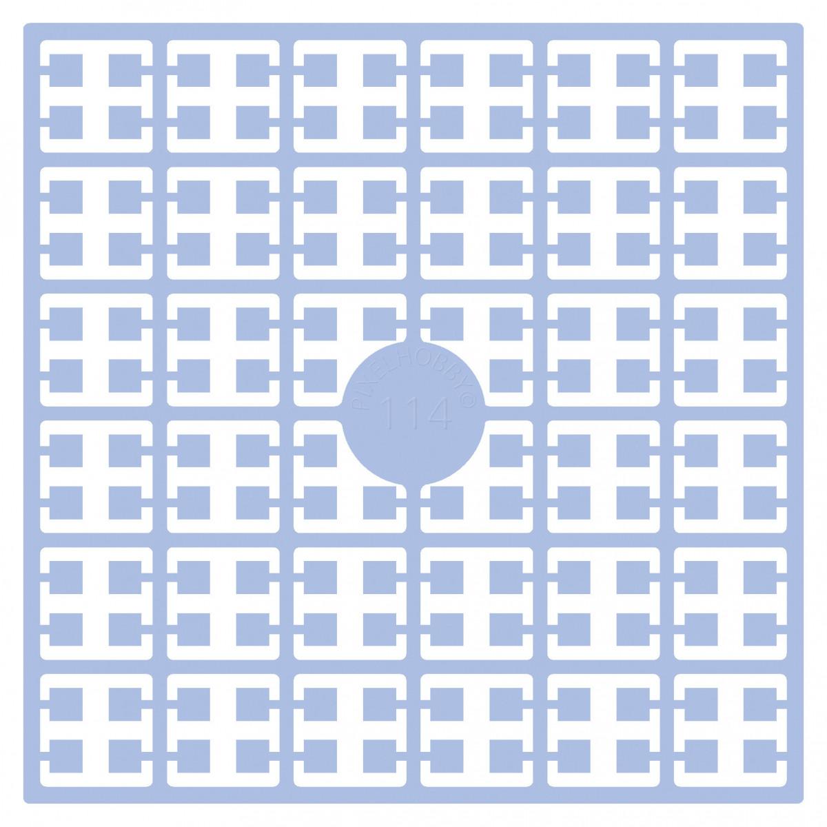 Pixelhobby Midi Bügelperlen 114 Helles Baby-Blau 2x2mm