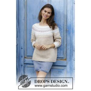 Nougat by DROPS Design – Strickmuster mit Kit Bluse Größen S - XXXL