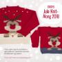 Kinder-Weihnachtspullover KAL 2018 by DROPS Design Alaska und Alpaca Bouclé Größen 2-12 Jahre