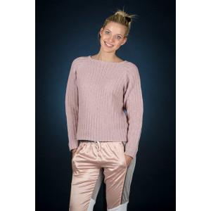 Mayflower Rose Raglan Bluse – Strickmuster mit Kit Pullover Größen S - XXXL