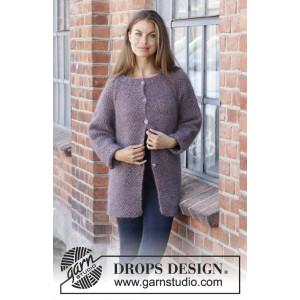 Simple Mind Jacket by DROPS Design - Strickmuster mit Kit Jacke Größen S - XXXL