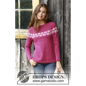 Daisy Delightby DROPS Design - Strickmuster mit Kit Pullover Größen S - XXXL