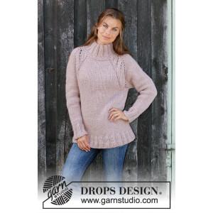 Warm Fall by DROPS Design - Strickmuster mit Kit Pullover Größen S - XXXL