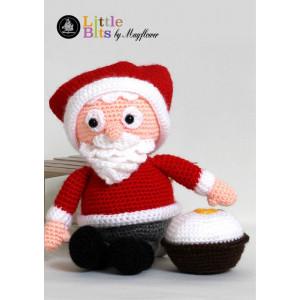 Mayflower Little Bits Julle der Weihnachtsmann - Häkelmuster mit Kit Weihnachtsmann