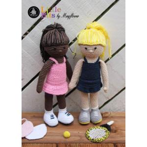 Mayflower Little Bits Tennis Mädchen - Häkelmuster mit Kit Puppe