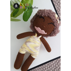 Mayflower Little Bits Hiba das Hula Mädchen - Häkelmuster mit Kit Puppe