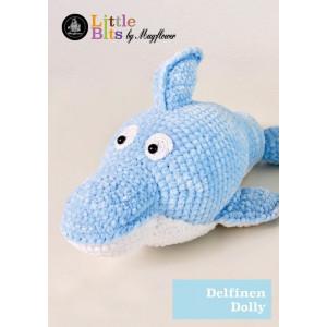 Mayflower Little Bits Dolly der Delfin - Häkelmuster mit Kit Kuscheltier