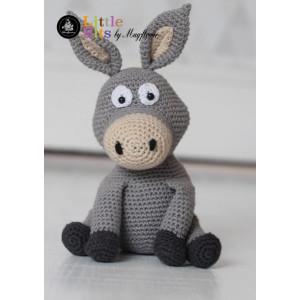 Mayflower Little Bits Donkey der Esel - Häkelmuster mit Kit Kuscheltier