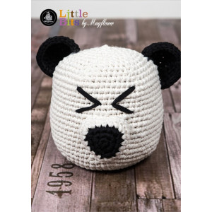 Mayflower Little Bits Panda Türstopper - Häkelmuster mit Kit Türstopper