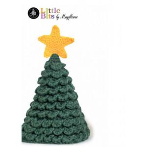 Mayflower Little Bits Weihnachtsbaum - Häkelmuster mit Kit Weihnachtsbaum