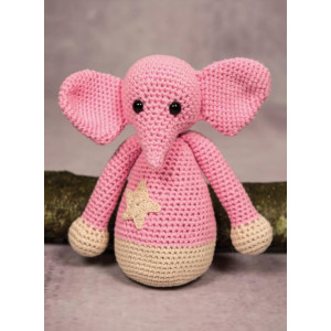 Mayflower Little Bits Ella der Elefant - Häkelmuster mit Kit Kuscheltier