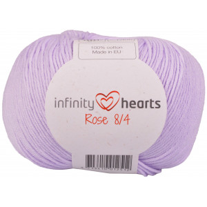 Infinity Hearts Rosa 8/4 Garn einfarbig 66 Helles Lila