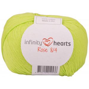 Infinity Hearts Rosa 8/4 Garn einfarbig 145 Limette