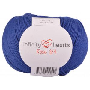Infinity Hearts Rosa 8/4 Garn einfarbig 109 Königsblau