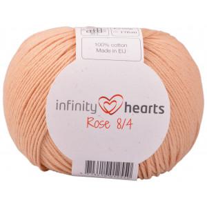 Infinity Hearts Rosa 8/4 Garn einfarbig 242 Terracotta Hell