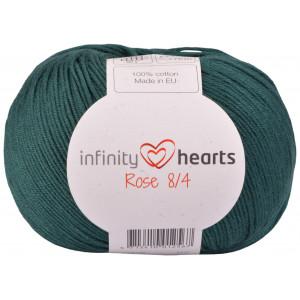 Infinity Hearts Rosa 8/4 Garn einfarbig 241 Petrolgrün