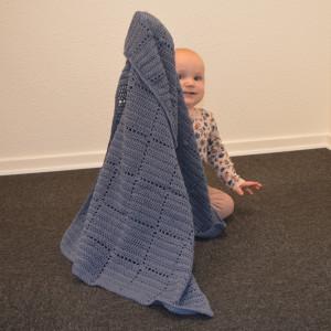 Nordic Baby Merino Babydecke by Rito Krea - Häkelmuster mit Kit Babydecke 70x100cm