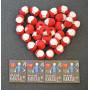 Infinity Hearts Rose 8/4 Garn einfarbig 19 Rot