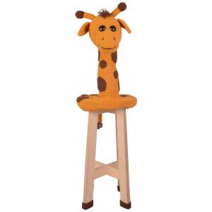 Giraffe Stool by Rito Krea - Häkelmuster mit Kit Sitzhocker-Kissen Giraffe