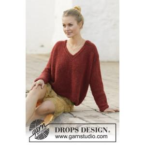 Robin Song by DROPS Design - Strickmuster mit Kit Pullover Größen S - XXXL
