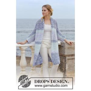La Mare by DROPS Design - Strickmuster mit Kit Jacke Größen S - XXXL