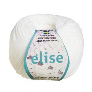 Järbo Elise Garn einfarbig 69201 Weiß