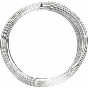 Aluminiumdraht Bonzai Silber 2mm 10m