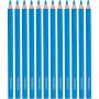 Colortime Buntstifte, Mine: 5 mm, jumbo, 12 Stck., Blau