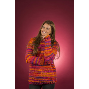 Mayflower Easy Knit Women Pullover Rundausschnitt - Strickmuster mit Kit Pullover Größen S - XXXL