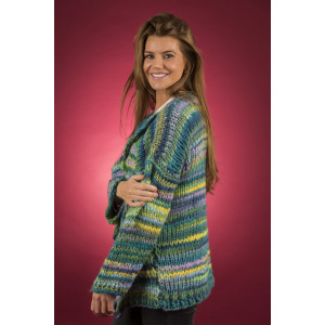 Mayflower Easy Knit dicker Cardigan - Strickmuster mit Kit Jacke Größen S - XXXXL