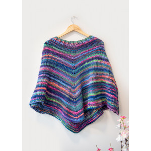Mayflower Easy Knit Poncho - Strickmuster mit Kit Poncho Einheitsgröße