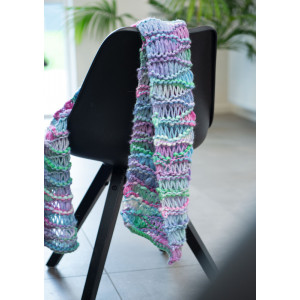 Mayflower Easy Knit Scarf - Strickmuster mit Kit Schal 140x30cm