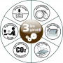 Toyota Power Fabriq 17 Ledernähmaschine - Grau